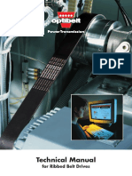 BELTS - Technical Manual for Ribbed BELTS Drives