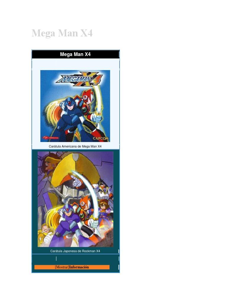 Mega Man X4 wiki | Capcom | Juegos japoneses