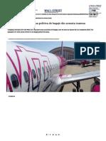Wizz Politica Bagaje