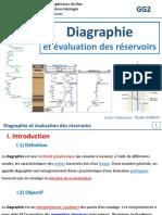 Diagraphie Et Evaluation Des Reservoirs