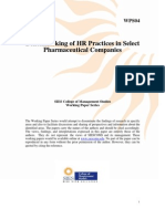 benchmarking_of_hr_practices_in_select_pharmaceutical_companies