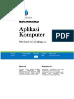 Modul Aplikasi Komputer [TM 09]