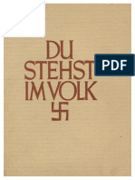 Belstler, Hans - Du stehst im Volk (1943, 54 S.)