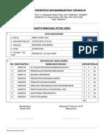 Kartu Rencana Studi_krs