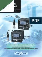 VC2200 vibration monitors