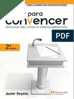 Hablar Para Convencer, 2da Edición - Javier Reyero