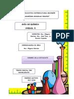 5. Quinto Parcial Guía Química