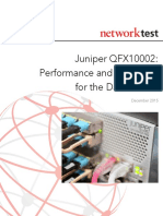 Juniper QFX10002 - Performance and Scalability for the Data Center