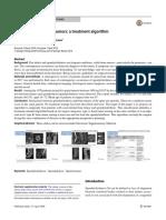 Spondylolisthesis andtumors atreatment algorith.pdf