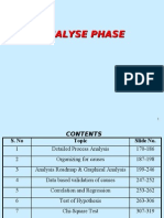 LSS Part 3 Analyze