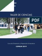 Taller de Ciencias. UNM. María Martini 2019