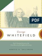 AVida Eo MinistCorio de George Whitefield Por JohnPiper