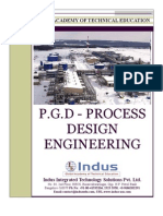Indus - PGD Process Design Engineering