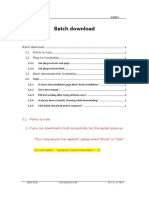 Batch Download Plugin Installation Manual