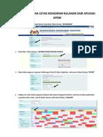 Manual Cara Cetak Kehadiran Bulanan Dari Aplikasi Apdm-converted