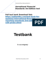 Applying International Financial Reporting Standards 3rd Edition test bank