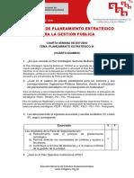 Examen 4 - Planeamiento Estrategico