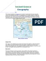 ancient greece geo