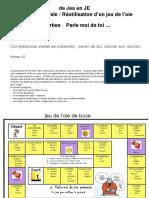 JEU Pour l'Apprentissage Du FLE Niveau A2 PARLE-MOI-De
