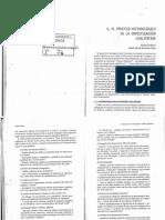 Proceso metodológico de la investigación