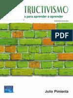Estrategias Para Aprender a Aprender TERCERA EDICIÓN. Julio Pimienta