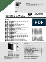 Mitsubishi Electric MXZ-2D-6D VA Service Manual Eng