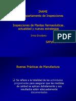 Inspecciones Industria farmacéutica