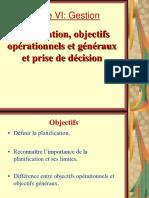 31467734 Gestion 2 Planification Objectifs Et Prise de Decision