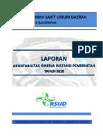 laporan kinerja RSUd