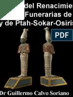En Auxilio del Renacimiento, las Estatuillas Funerarias de OSIRIS y de Ptah-Sokar-Osiris