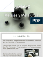 CAP 2 Metales y Metalurgia
