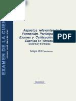 Aspectos Relevantes Examen de Cuenta