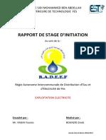 Rapport de Stage RADEEF