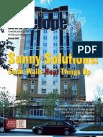 SolarWall - Pushing the Envelope Magazine Article - Ontario Building Envelope Council