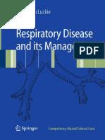 Respiratory Its Management