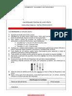 Prova UFOP - 2013 assistente adm