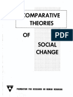 Comparative theories of social change, Hollis W. Peter, 1966