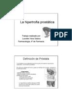La Hipertrofia Prost