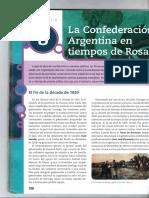 Capitulo 8 - La Confederación en Tiempos de Rosas