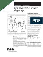 Determining power circuit breaker.PDF