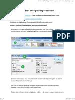 Créer Un Dépliant Avec Powerpoint 2007