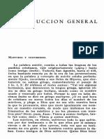 Acta de Los Mártires (Introducción General)