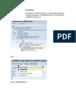 04 Parametrizacion de Variante de Ejercicio sap