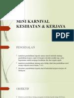Mini Karnival Kesihatan & Kerjaya