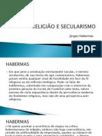Religião e Secularismo Em Habermas Filosofia Salesianos