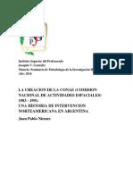La creacion de la CONAE (Tesis) Juan Pablo Niemes.docx