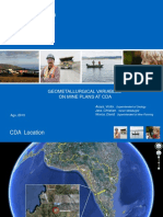 4.- Modelo de Dureza y Plan. Minera - V Araya - TECK CDA