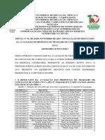 propostas de avaliação