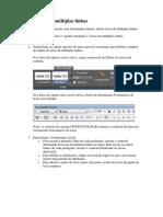 Texto Autocad