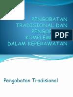 Pengobatan Tradisional (1)